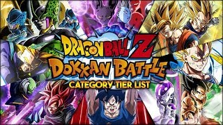 RANKING EVERY CATEGORY IN DOKKAN! CATEGORY TIER LIST! WHICH IS THE BEST? (DBZ: Dokkan Battle) thumbnail
