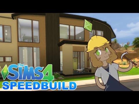 Sims 4 || Modern Crib || Bit Bistro Speedbuilds