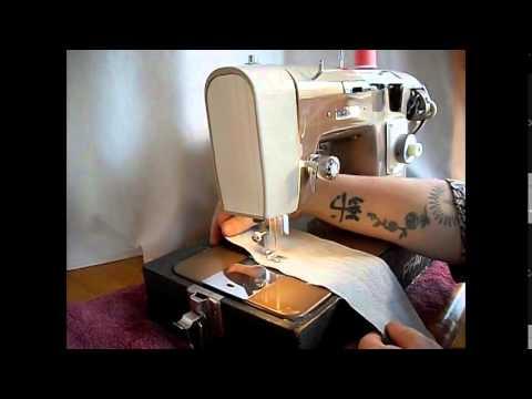 Built for Pfaff, Japanese-made Calanda Sewing Machine Demo Video