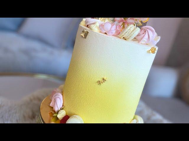 Layer cake velours effet velours
