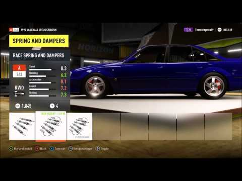 forza horizon 2 car build vauxhall lotus carlton. Black Bedroom Furniture Sets. Home Design Ideas