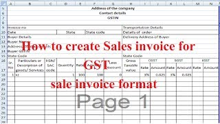 Guys note it at 4.22 to 4.28 igst is for outside state that between 2 states by mistake i said cgst . you have apply in this video know ho...