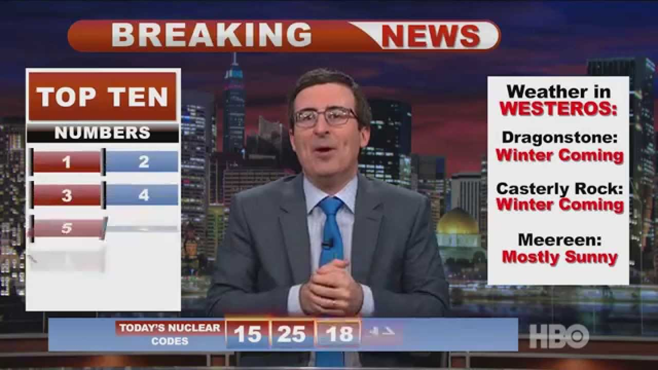 India Election Update: Last Week Tonight with John Oliver ...