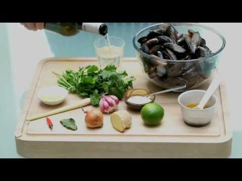 Mussels Thai Style - Indulgent healthy and delicious. A great recipe to try.