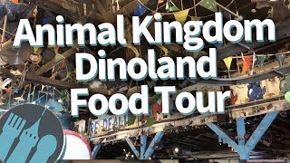 Disney World Food Tour: EVERYWHERE to Eat in Animal Kingdom