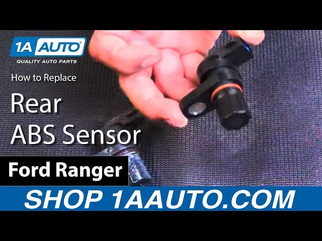 How To Replace Rear Abs Sensor 90 07 Ford Ranger 1a Auto