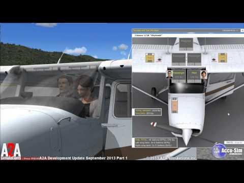A2A Accu-Sim C172 Trainer Development Video Part 1 of 3