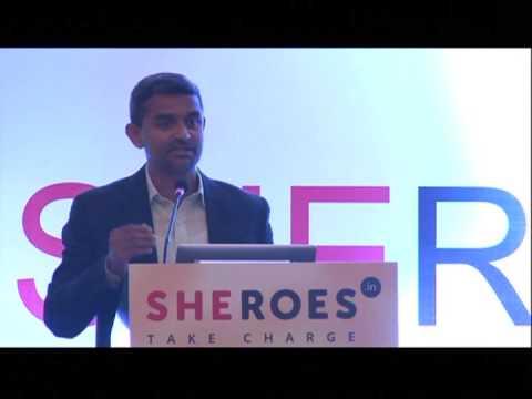 SHEROES Summit 2014 | Championing Remote Work - James Joseph, Author God