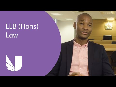 LLB (Hons) Law at the University of West London