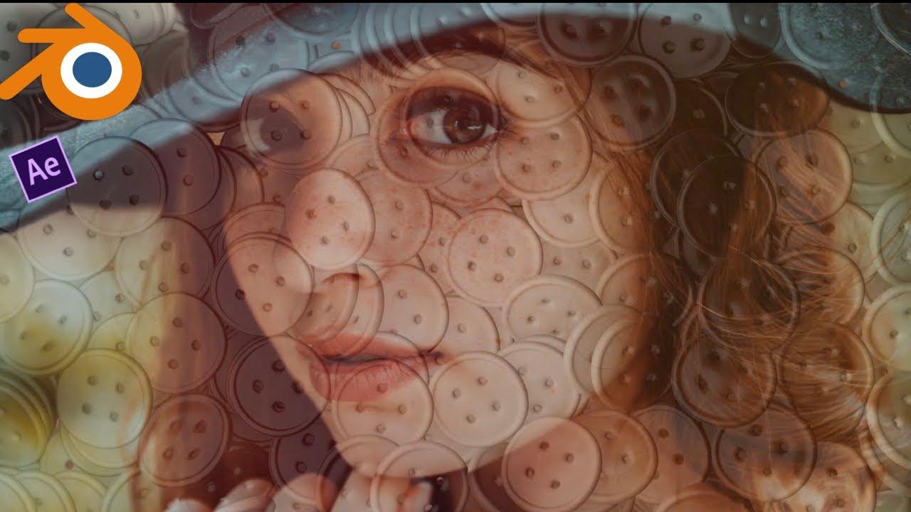 AE「blender 2.8」3D Photo Slideshow  Rigid Body Physics & UV Projection | Tutorial Coming Soon