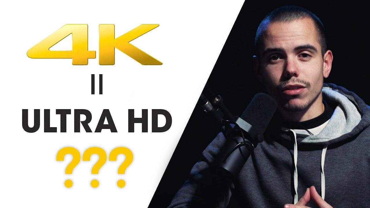 4K vs UHD - Quelle est la différence entre Ultra HD et 4K ?