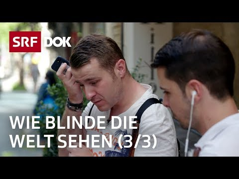 Blind auf Reisen – Yves und Jonas in Jerusalem | Blindflug (3/3) | Doku | SRF DOK