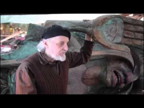 Godfrey Stephens talks about Weeping Cedar Woman