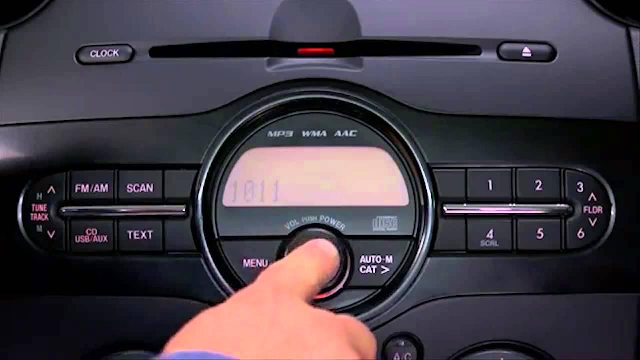 2013 Mazda2 Auxiliary And Usb Audio Tutorial Youtube