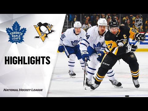 NHL Highlights   Maple Leafs @ Penguins 2/18/20