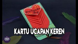 IDE KREATIF MEMBUAT KARTU UCAPAN / WATERFALL CARD ROMANTIS