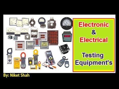 Electronics And Electrical Testing Equipment | इलेक्ट्रॉनिक्स और विद्युत परीक्षण उपकरण