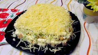 """Как приготовить салат """"Цезарь"""" с курицей - Вкуснейший и легкий салат Цезарь"""