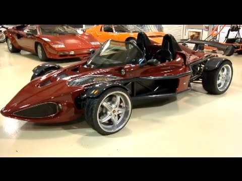 Deronda Sports Car - Jay Leno's Garage - YouTube