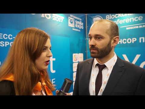 Игорь Порох - Интервью с Blockhain & Bitcoin Summit Moscow - Сокольники