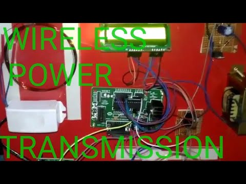 Wireless Power Transmission ||  B.tech and Diploma final year project