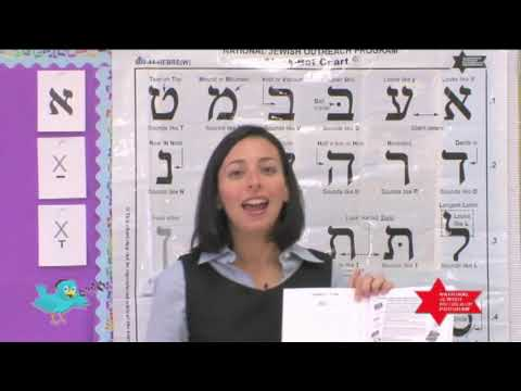 Twebrew School Hebrew Lessons 1 & 2
