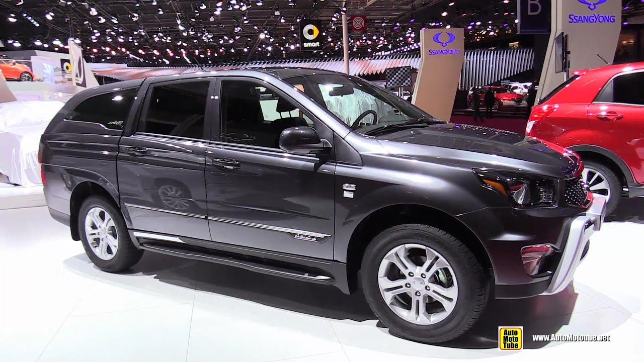 2015 ssang yong actyon sports 4wd diesel exterior. Black Bedroom Furniture Sets. Home Design Ideas