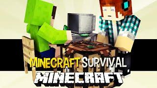 Minecraft Survival Ep.93 - Quase a Robertinha ( Big Bertha) !! ESPECIAL