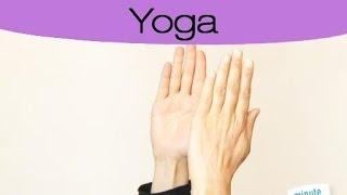 Exercice Yoga pour lutter contre les mains gonflées