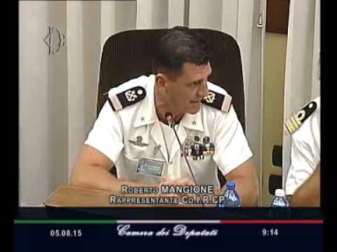 Roma - Audizione Capitanerie di Porto (05.08.15)