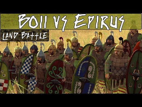Total War Rome 2 Online Battle 192 Boii vs Epirus |