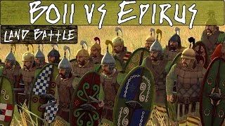 Total War Rome 2 Online Battle 192 Boii vs Epirus