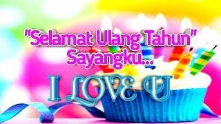Download lagu Kata Ucapan selamat ulang tahun paling romantis terkeren (terbaru)