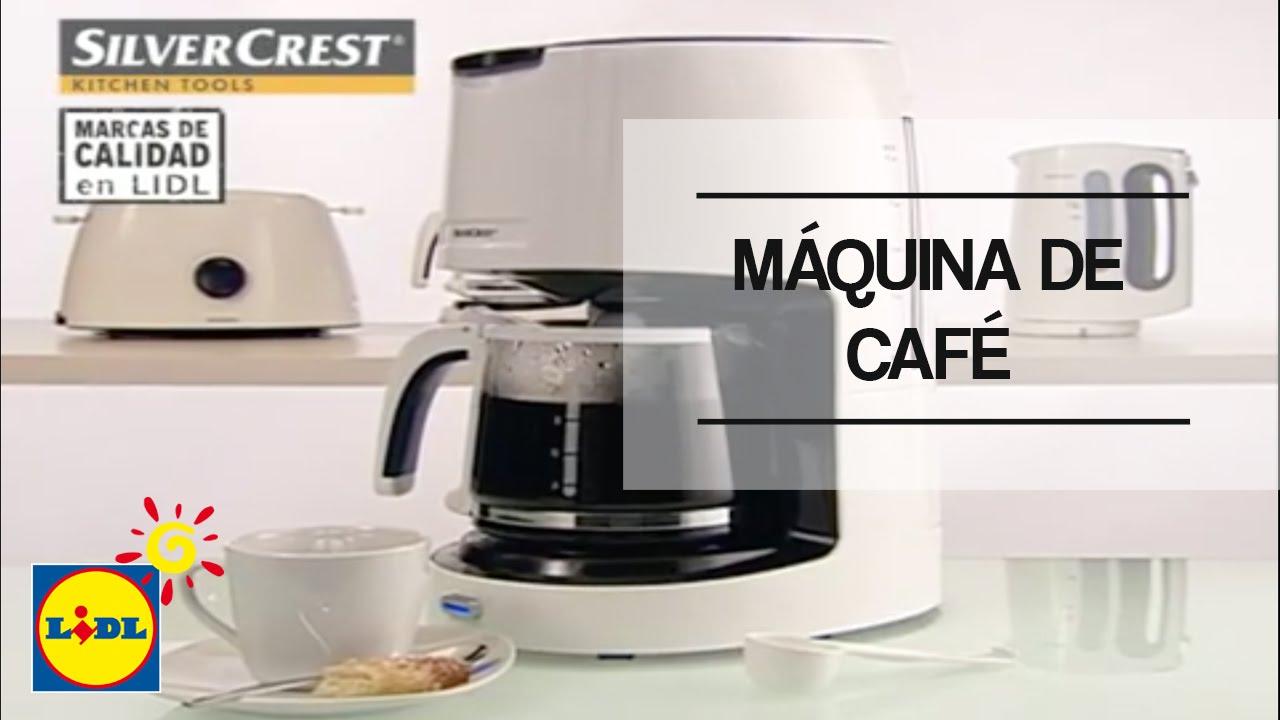 M quina de caf lidl espa a youtube - Silvercrest kitchen tools opiniones ...