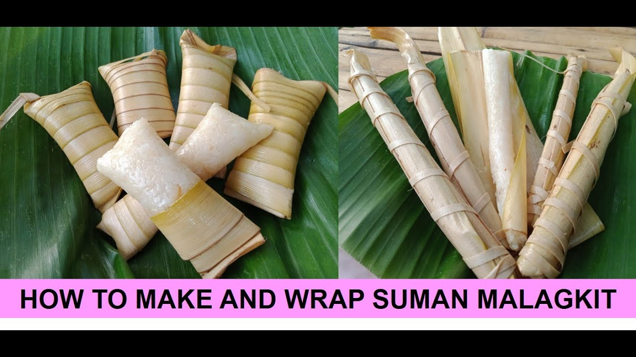 Download HOW TO MAKE AND WRAP SUMAN MALAGKIT | CRAFTING 101