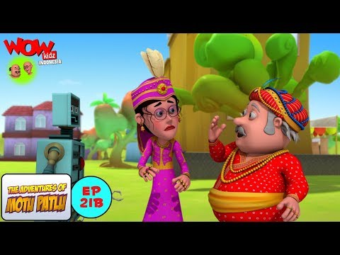 Salim Robot - Motu Patlu dalam Bahasa -...