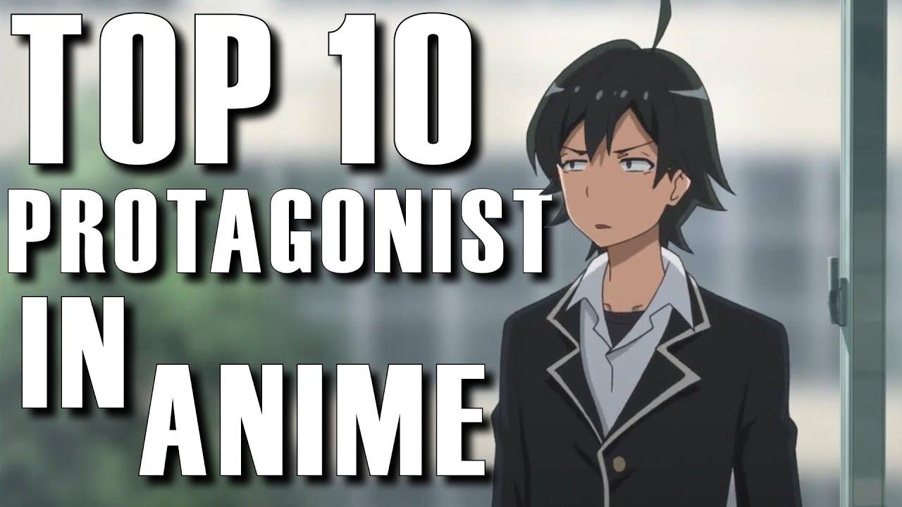 Top 10 Anime Protagonist with AnimeCorner by Manime Matt