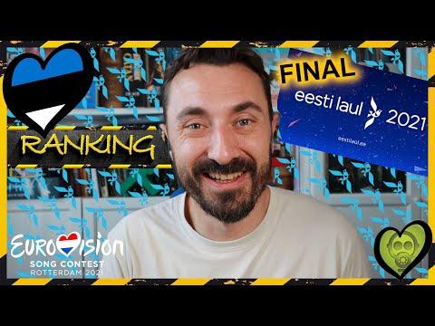 RANKING EESTI LAUL 2021 [ESTONIA] - ToxicVision s2021e47