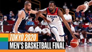 France 🇫🇷 vs USA 🇺🇸  | Men's Basketball Gold Medal Match | Tokyo Replays