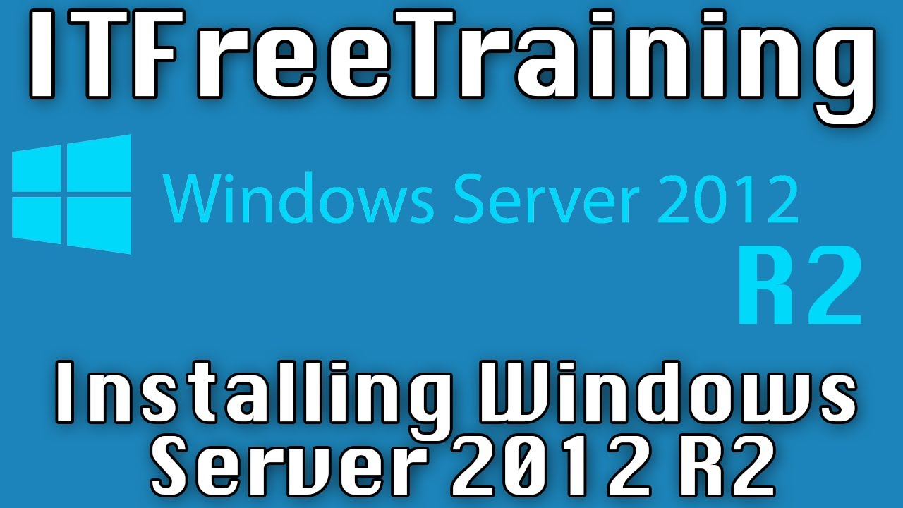 Installing Windows Server 2012 R2