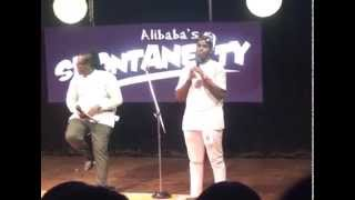 King of Comedy, Ali Baba Debuts Talent Show, Sponteneity