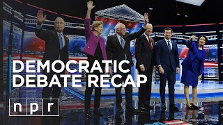 Nevada Democratic Debate Recap | Politics | NPR