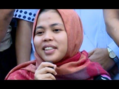 Bebas, Siti Aisyah: Terima Kasih Presiden Jokowi