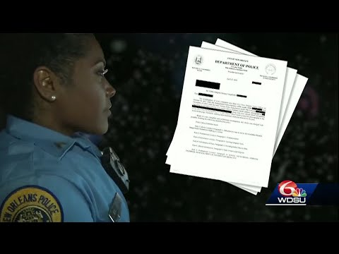 WDSU Investigates: Well-known NOPD officer suspended