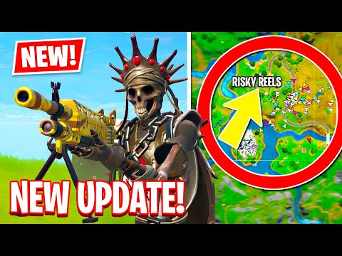 NEW UPDATE IS HERE!! AIM ASSIST Is NERFED! (Fortnite Battle Royale)