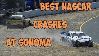 Best NASCAR Crashes at Sonoma