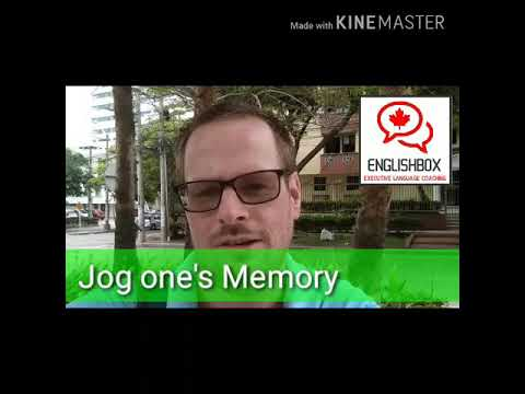 Jog one's Memory (English Expression)