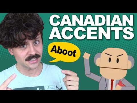 All aboot Canadian accents