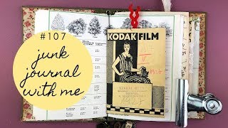 Junk Journal with me 107 - Using Flea Market finds from Budapest
