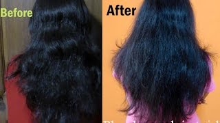 Straighten your hair using hair dryer Thumbnail
